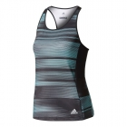Adidas Women's Advantage Trend Tennis Tank (Black/Aqua/Onix) - MAP Products
