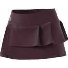 Adidas Women's Advantage Layered Tennis Skirt (Dark Burgundy) - MAP Products
