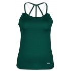 DUC Chic Women's Tennis Tank (Pine Green) - DUC Women's Team Tennis Tops