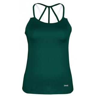 DUC Chic Women's Tennis Tank (Pine Green)