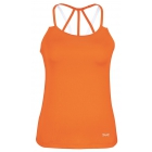 DUC Chic Women's Tennis Tank (Orange) - DUC Women's Team Tennis Tops