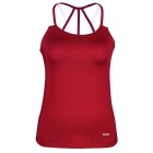DUC Chic Women's Tennis Tank (Cardinal) - DUC Team Tennis Apparel