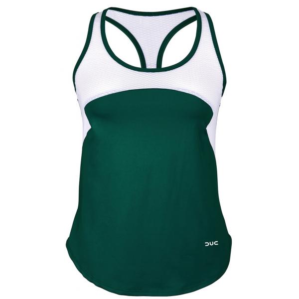 DUC Refreshing Women's Tennis Tank (Pine Green)