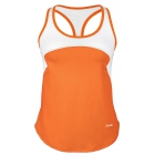 DUC Refreshing Women's Tennis Tank (Orange) - DUC Women's Team Tennis Tops