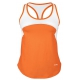 DUC Refreshing Women's Tennis Tank (Orange) - Women's Tank Tops