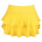 DUC Belle Women's Tennis Skirt (Gold) - Tennis Apparel Brands