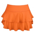 DUC Belle Women's Tennis Skirt (Orange) - Women's Team Apparel