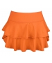 DUC Belle Women's Tennis Skirt (Orange) - Women's Skirts
