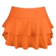 DUC Belle Women's Tennis Skirt (Orange) - Women's Skirts & Skorts