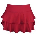 DUC Belle Women's Tennis Skirt (Cardinal) - Women's Team Apparel