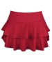 DUC Belle Women's Tennis Skirt (Cardinal) - Women's Skirts