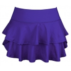 DUC Belle Women's Tennis Skirt (Purple) - Women's Team Apparel