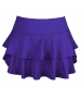 DUC Belle Women's Tennis Skirt (Purple) - Women's Skirts