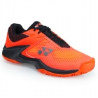 Yonex Men's Power Cushion Eclipsion II Tennis Shoes (Orange/Black) - Yonex Tennis Shoes