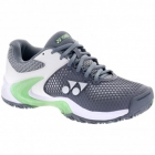 Yonex Women's Power Cushion Eclipsion II Tennis Shoe (Gray/Pale Green) - Yonex Tennis Shoes