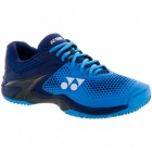 Yonex Men's Power Cushion Eclipsion II Clay Court Tennis Shoes (Blue/Navy) - Yonex Tennis Shoes
