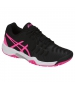 Asics Gel Resolution 7 Junior Tennis Shoes (Black/Hot Pink/Silver) - Tennis Shoes for Kids