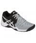 Asics Gel Resolution 7 Junior Tennis Shoes (Mid Grey/Black/White) - Tennis Shoes for Kids