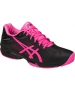 Asics Women's GEL-Solution Speed 3 Tennis Shoes (Black/Hot Pink/Silver) - Asics Gel-Solution Speed Tennis Shoes