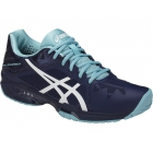 Asics Women's GEL-Solution Speed 3 Tennis Shoes (Indigo Blue/White/Porcelain Blue) - Asics Tennis Shoes