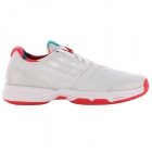Adidas Women's adiZero Ubersonic Tennis Shoes (White/ Red) - Adidas adiZero