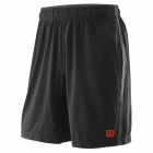 Wilson Men's Urban Wolf 2 Woven Tennis Shorts (Black/Pro Staff Red) - Wilson Apparel