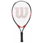 Wilson Federer Junior 21 Inch Tennis Racquet - Show Your Colors. Shop Red, White & Blue Tennis Gear.