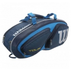 Wilson Tour V 6 Pack Tennis Bag (Blue) - New Tennis Bags