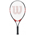 Wilson Federer Junior 23 Inch Tennis Racquet - Show Your Colors. Shop Red, White & Blue Tennis Gear.