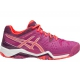 Asics Women's Gel Resolution 6 Shoes (Berry/ Coral/ Plum) - Asics Gel-Resolution Tennis Shoes