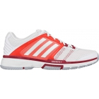 Adidas Women's Barricade Team 4 Tennis Shoes (White/Solar Red)] - Adidas Tennis Shoes