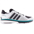 Adidas Men's Total Energy Boost Tennis Shoes (White/ Black) - Performance Tennis Shoes