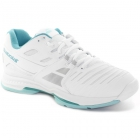 Babolat Women's SFX 2 All Court Tennis Shoes (White/Light Blue) - Babolat SFX Tennis Shoes