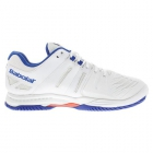 Babolat Men's SFX 2 All Court Tennis Shoes (White/Blue)  - Men's Tennis Shoes