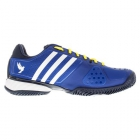 Adidas Barricade Novak Pro Men's Tennis Shoes (Royal/ White/ Yellow) - Adidas Tennis Shoes