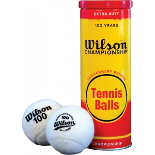 Wilson 100 Year Anniversary Edition Extra Duty Tennis Balls (Can)