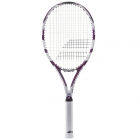 Babolat Drive Lite Tennis Racquet (White/Violet) - Player Type