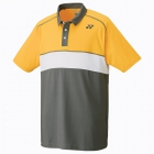 Yonex Men's Wawrinka Paris London Tennis Polo (Yellow) - Men's Polo Shirts