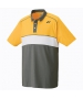 Yonex Men's Wawrinka Paris London Tennis Polo (Yellow) - Men's Tennis Apparel