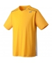 Yonex Men's Wawrinka Paris London Tennis V-Neck (Yellow) - Men's Tennis Apparel