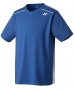 Yonex Men's Wawrinka Paris London Tennis V-Neck (Deep Blue) - Men's Tennis Apparel