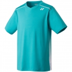 Yonex Men's Wawrinka Paris London Tennis V-Neck (Sea Blue) - Tennis Apparel Brands