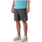 K-Swiss Men's Challenger Tennis Short (Dark Shadow/Dark Shadow) - Shop the Best Selection of Tennis Apparel