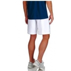 K-Swiss Men's Challenger Tennis Short (White/Aquamarine) - Shop the Best Selection of Tennis Apparel