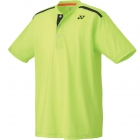 Yonex Men's Wawrinka Paris London Tennis Henley (Yellow) - Men's Polo Shirts