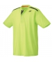 Yonex Men's Wawrinka Paris London Tennis Henley (Yellow) - Men's Tennis Apparel