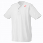 Yonex Men's Wawrinka Paris London Tennis Henley (White) - Men's Polo Shirts