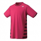 Yonex Men's Wawrinka Tournament Style Melbourne Tennis Crew (Red) - Men's Polo Shirts