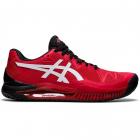 ASICS Men's Gel-Resolution 8 Tennis Shoe (Electric Red/White) -