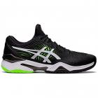 Asics Men's Court FF 2 Tennis Shoes (Black/Green Gecko) -